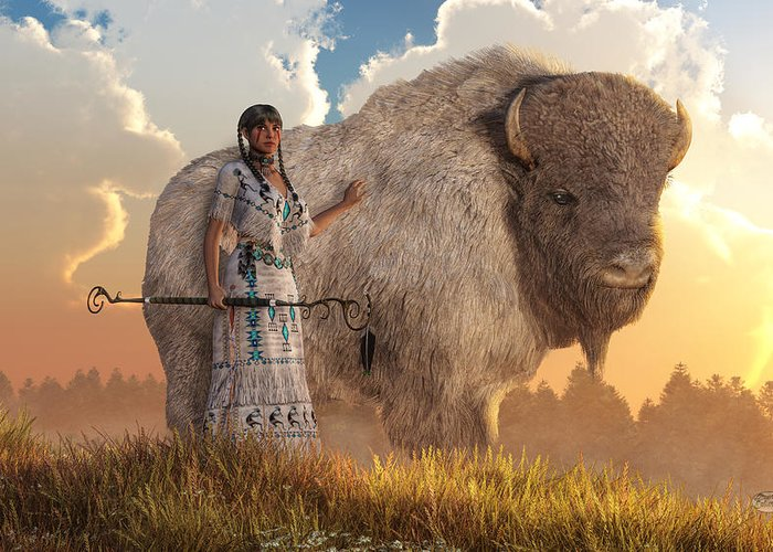 white buffalo calf woman daniel eskridge